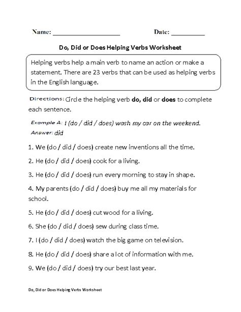 images  action verb worksheets grade  action