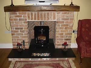 Living Room : Living Room With Brick Fireplace Decorating