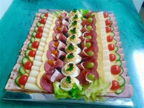 Bildergebnis Für Kalte Platten Dekorieren  Essen Und