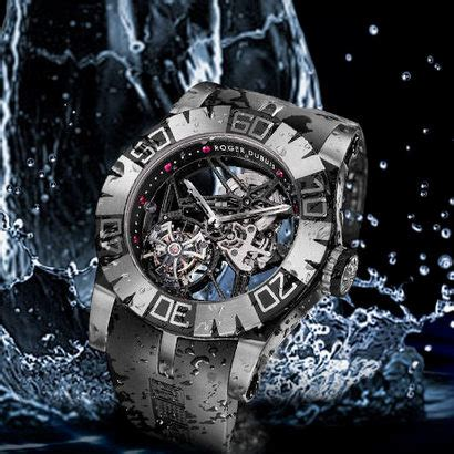 roger dubuis easy diver sed tourbillon  dive watches