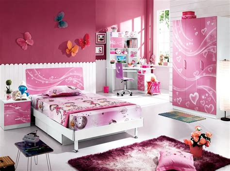 Pink Kids Bedroom Furniture For Girls
