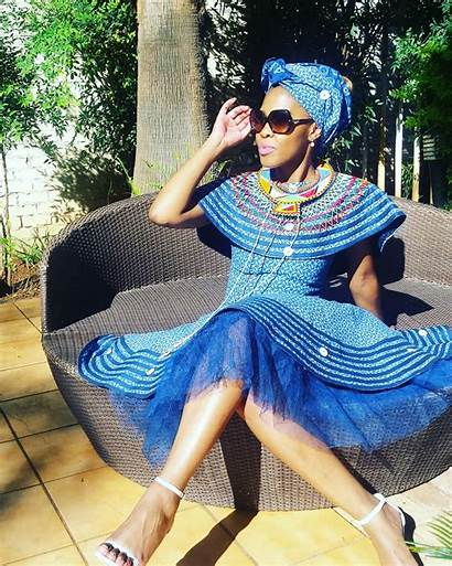 African Shweshwe Dresses South Traditional Outfits Nigerian