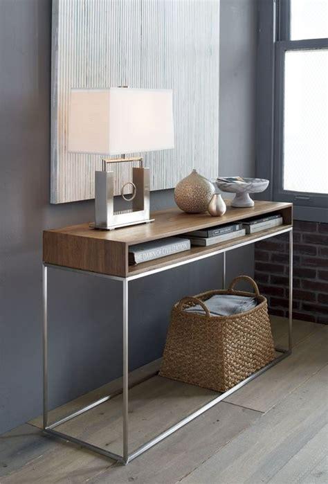ideas  tener una mesa estilo consola en el recibidor