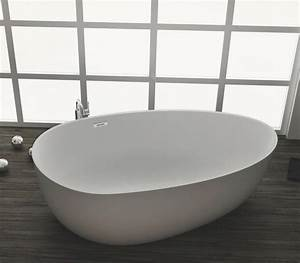 Freistehende Badewanne Mineralguss : freistehende badewanne aus mineralguss kzoao 1485 badewelt ~ Michelbontemps.com Haus und Dekorationen