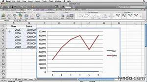 Excel  How To Work With Line Charts