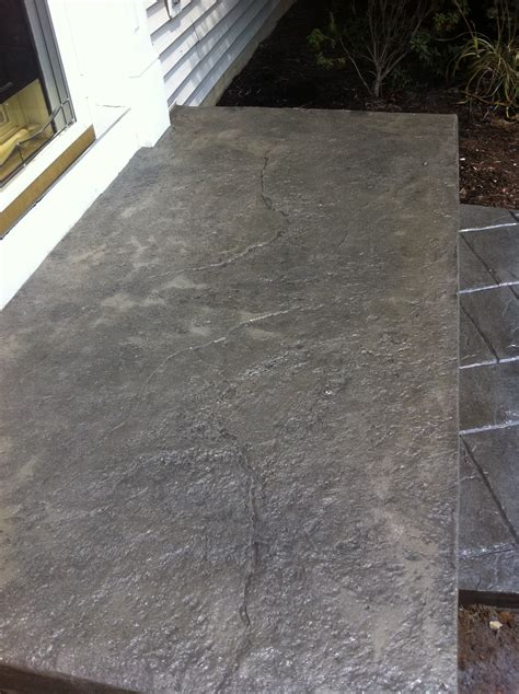 Stamped Overlay  Concrete Resurfacing West Chester Pa 19344