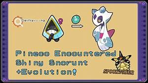 Shiny Snorunt + Evolution! (Spooktober) on Pokemon Omega ...
