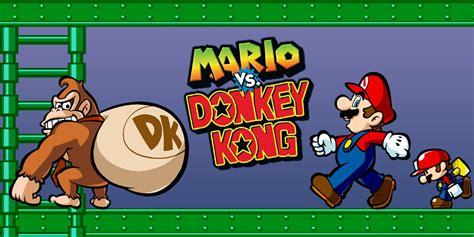 Mario Vs Donkey Kong Game Boy Advance Games Nintendo