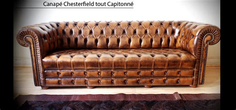 canap en anglais canapé chesterfield capitonné 3 places marron patiné