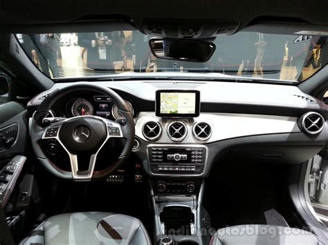 mercedes dashboard mercedes gla dashboard indian autos blog