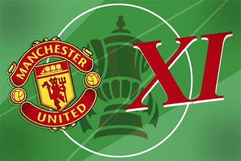 Manchester United XI vs West Ham: Confirmed team news ...