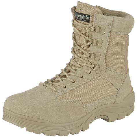tactical boots delta cordura tactical side zip security combat army mens boots