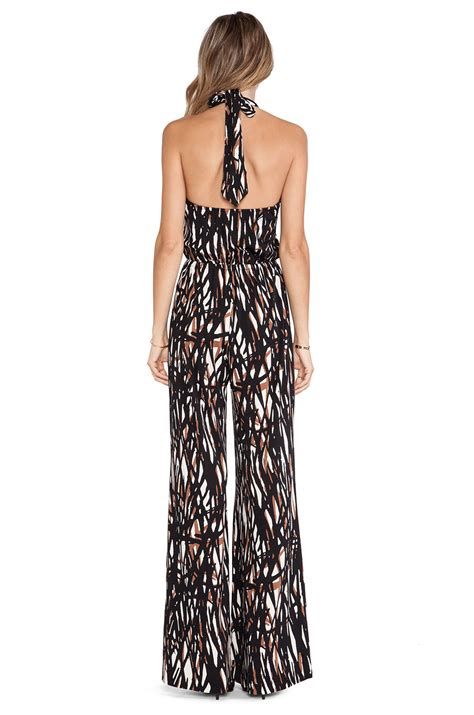 pally jumpsuit lyst pally jumpsuit in black