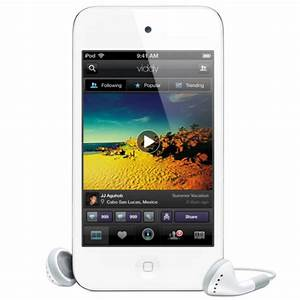 Apple iPod Touch 8GB 4th Generation White Electronics ...