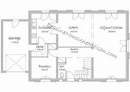 hd wallpapers plan de maison rectangulaire plain pied 150m2 - Plan De Maison Rectangulaire
