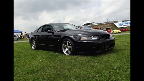 2003 Mustang Cobra Engine by 2003 Ford Mustang Svt Cobra In Black Engine Sound On My