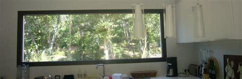 soleil dans la cuisine fenêtre fixe acheter un châssis fixe sur mesure