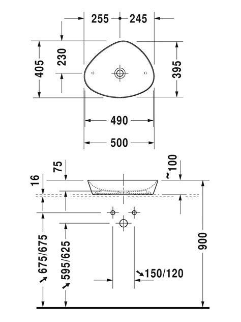 Duravit Cape Cod 500mm Washbowl   2339500000