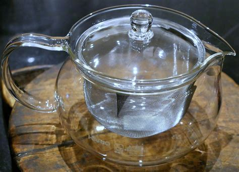 Hario Japanese Glass Teapot With Large Infuser
