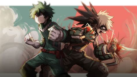 I do not own any of this art!! MHA Computer Bakugou Wallpapers - Wallpaper Cave