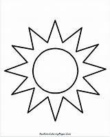 Sun Coloring Drawing Simple Hat Sunshine Sol Para Colorear Cloud Sunglasses Moon Realistic Pintar Colouring Printable Sheet Kid Sunscreen Getcolorings sketch template