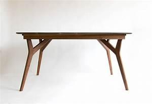 Handcrafted, Modern, Walnut, Wishbone, Dining, Table, U2013, Snacks