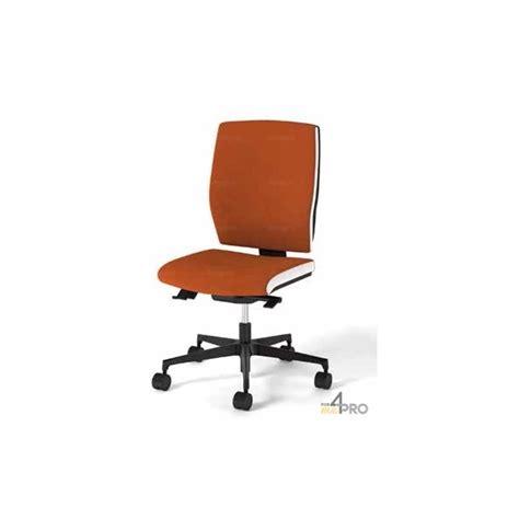 fauteuil de bureau synchrone avec dossier haut pieds alu poli square bicolore blanc 4mepro