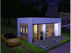 Sims 3 Very Small Modern House YouTube