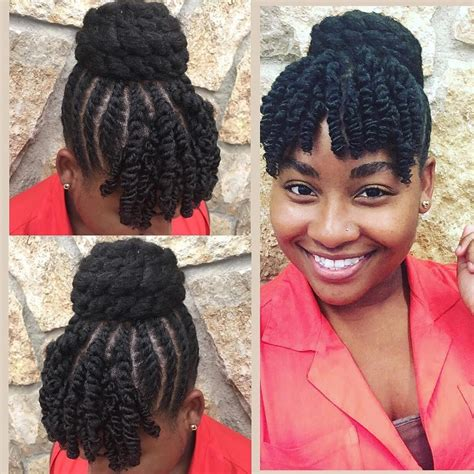 gorgeous protective hairstyles featuring coily hair