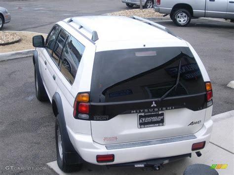 Mitsubishi Lees Summit by 2004 Summit White Mitsubishi Montero Sport Ls 4x4
