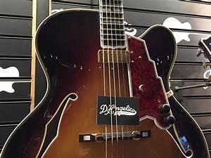 D U0026 39 Angelico Master Builder Electric Guitars With Throbak