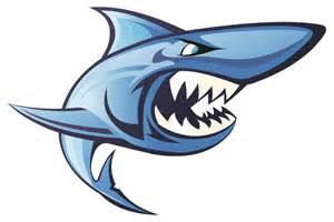 Tiger Shark Swim Team Logo