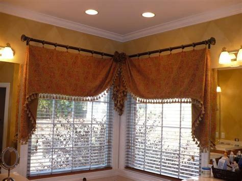 1000  ideas about Corner Window Curtains on Pinterest