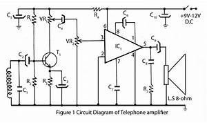 Telephone Amplifier  U2013 Electronics Project