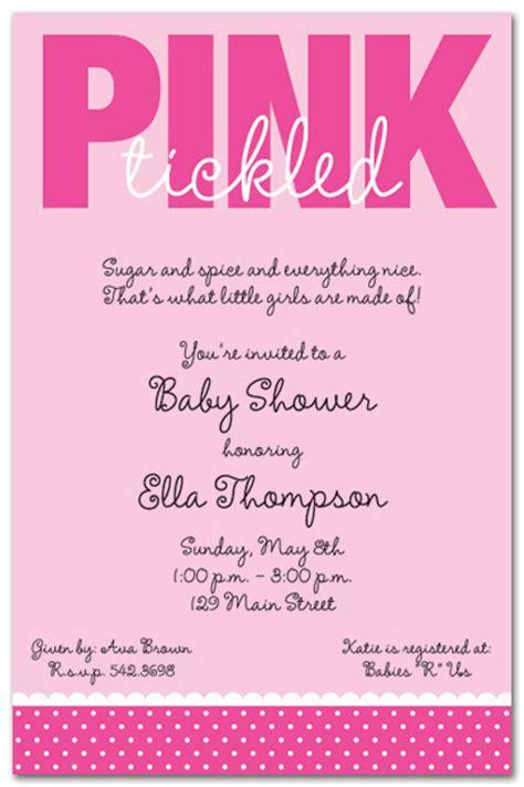 girl baby shower invitations baby shower invitation wording for a cimvitation