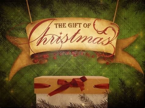 gift  christmas ministry powerpoint christmas