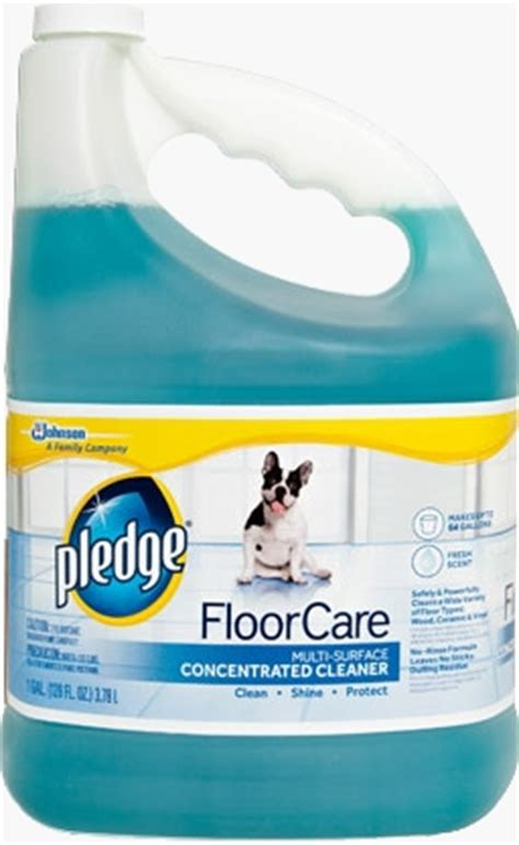 Pledge Wood Floor Cleaner Msds by Pledge 174 Sc Johnson