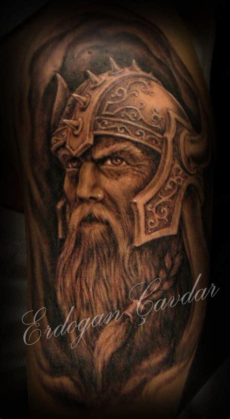 ideas  viking warrior tattoos  pinterest