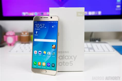 Samsung Galaxy Note 5 Unboxing And First Impressions