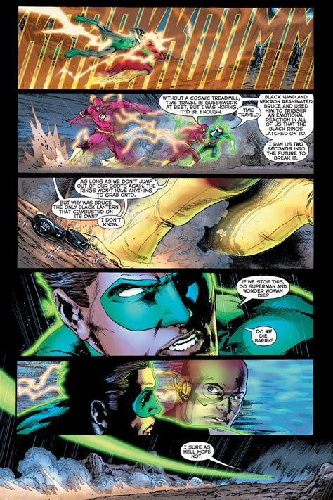 flash with green lantern ring how the flash disabled a black lantern ring comicnewbies