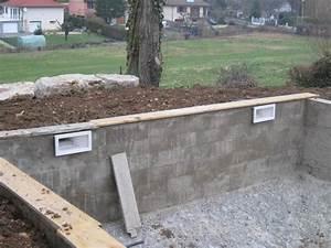 Hydrofuge Pour Pierre : construire une piscine les enduits hydrofuge aux murs ~ Zukunftsfamilie.com Idées de Décoration