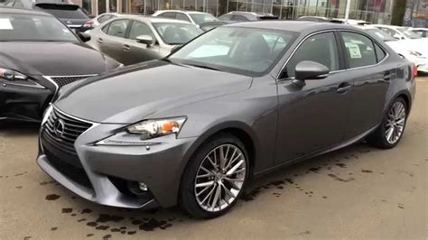 lexus gray new grey on black 2015 lexus is 250 4dr sport sdn auto awd