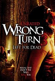 wrong turn  left  dead video
