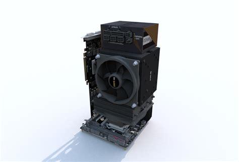 Custom Air Silent Pc ~11l Performance Gaming Pc Itx