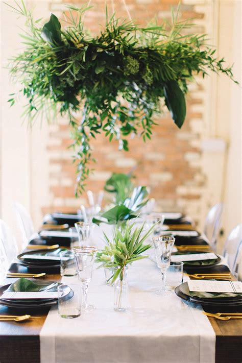 black  white tropical wedding inspiration  jen rios
