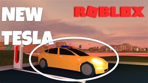 Roblox Jailbreak  Buying A Tesla In Jailbreak (model 3