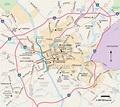 Columbia, South Carolina - Printable Map