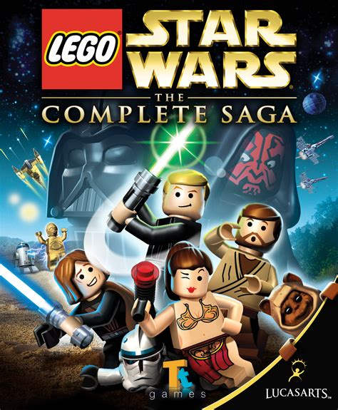 Lego Star Wars The Complete Saga Wookieepedia Fandom