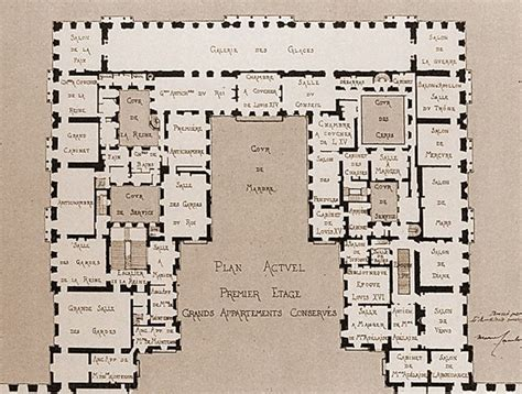 17 Best Images About Versailles  Floor Plans On Pinterest