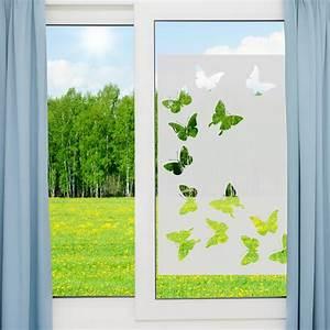 Stickers Pour Vitre : stickers muraux pour portes de douche papillons ~ Melissatoandfro.com Idées de Décoration